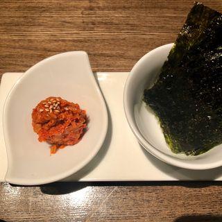 チャンジャと韓国海苔(SO-TEN)
