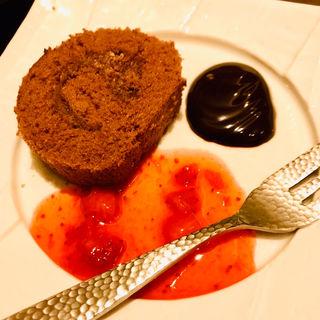 チョコレートロールケーキ(ゆず庵 神戸小束山店)