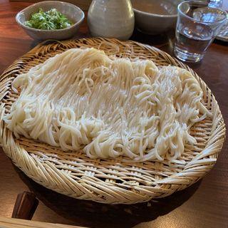 ざるうどん大盛り(釜竹 (かまちく))