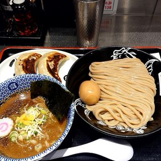 濃厚つけ麺(並)+味玉+心の味餃子(2個)