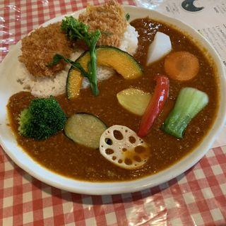 キーマカレー(ひき肉)