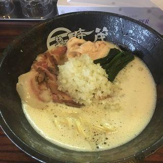 濃厚鶏白湯(麺屋 時茂 スカイツリー店)