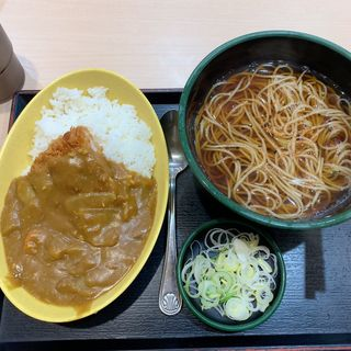 日替わり丸得セット(ミニカツカレー)