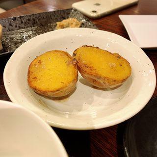 キタアカリのじゃがバター(八堂八)