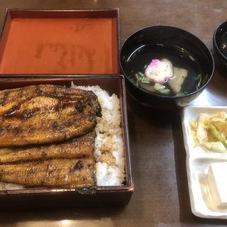 鰻重特上二段重(橋本食堂)