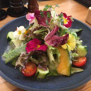 10種類のお野菜でお花畑サラダ