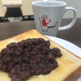 あんバタートーストモーニング(ホリーズカフェ 第3ビルWEST店 )