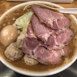 極 力皇麺 全部のせ(麺場 力皇)
