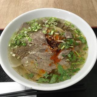 蘭州牛肉麺(中国蘭州牛肉ラーメン 国壱麺 上野御徒町本店)