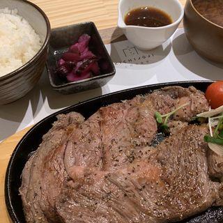 ブラックアンガス牛リブステーキ(029吉祥寺食堂)