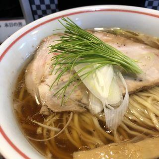 豚100%清湯醤油らーめん〜豚と水