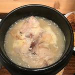 参鶏湯と薬膳セット