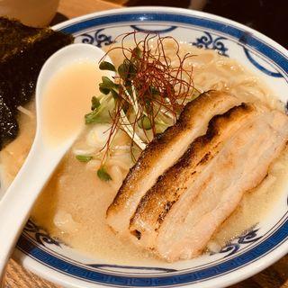 鶏白湯らーめん(つけ麺や 武双 グランツリー武蔵小杉店)