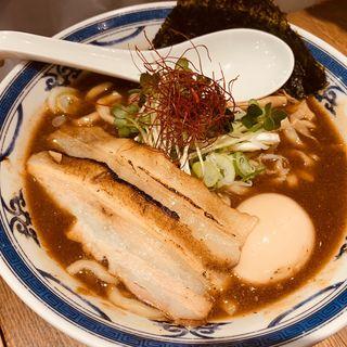 鶏魚介味玉らーめん(つけ麺や 武双 グランツリー武蔵小杉店)