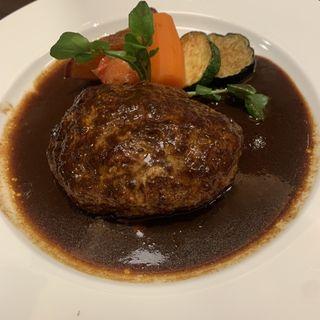 芳味亭ハンバーグ