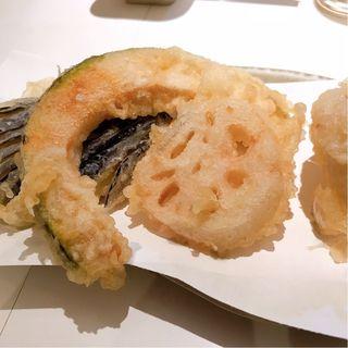 野菜天ぷら3種盛り