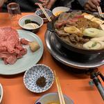 トクの牛鍋 野菜・玉子付(米久本店 (よねきゅうほんてん))