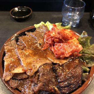 スペシャル丼(焼肉丼 たどん 秋葉原店)