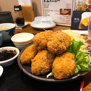かきフライ定食A