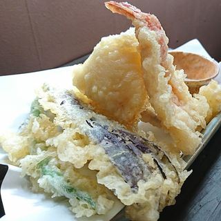 天ぷら おばんざいランチ