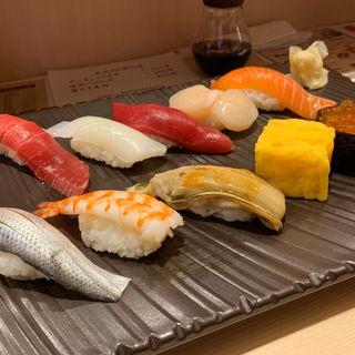 握りのコース(玉子・お椀付き)(寿司菜)