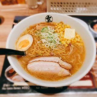 味噌ラーメン(らーめん空 新千歳空港店)