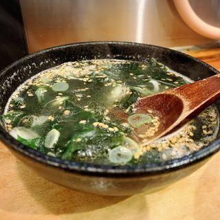 わかめスープ(和牛十兵衛)
