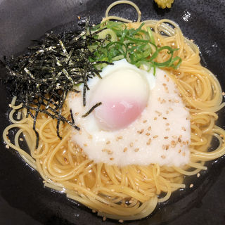とろろと半熟卵柚子胡椒風味(こなな 天神店)