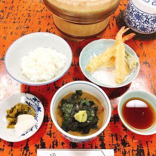 鯛茶+天ぷらハーフセット