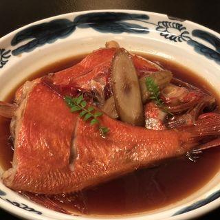 金目鯛 煮付け、焼き
