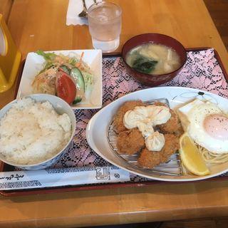 カキフライ定食(NEWカリオカ)