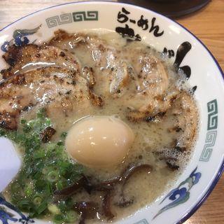 炭火チャーシュー麺・煮玉子