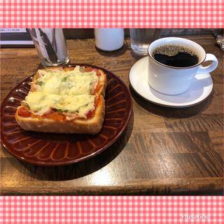 ピザトースト&コーヒー(SHIBACOFFEE (シバコーヒー))