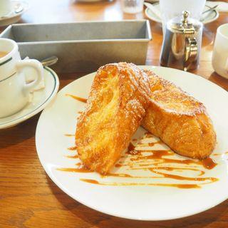 フレンチトースト(エンジョイ・カフェ (Enjoy! Cafe))