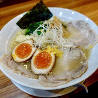 特製ゆず塩ラーメン(麺屋 楼蘭 (めんや ろうらん))