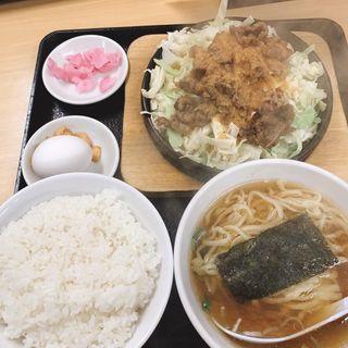 ビーフ鉄板麺(大盛軒)