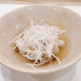 白子 顎出汁(鮨・稲荷 たけ屋)