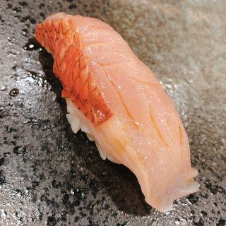 金目鯛(鮨・稲荷 たけ屋)
