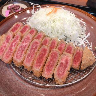 牛カツ(とんかつ 薩摩 ヨドバシ梅田店 (さつま))