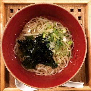 秋田名物 稲庭うどん(うみさと 食堂&酒場)