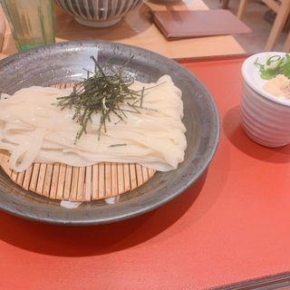 ざるきしめん(驛釜きしめん (えきかまきしめん))