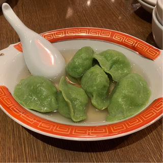 青菜水餃子