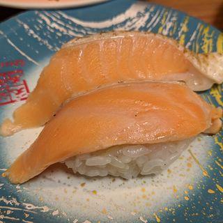 焼きサーモン(元祖寿司 京急蒲田店 (がんそずし))