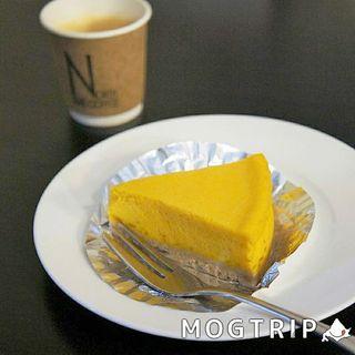 かぼちゃのチーズケーキ(ノースライブコーヒー )