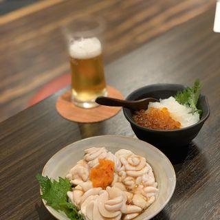 白子焼き(炉ばた 万年青 神楽坂店)