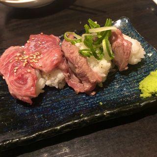 肉寿司×ローストビーフ食べ放題(楽庵はなれ)