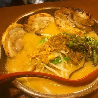 信州味噌 炙りチャーシュー麺(田所商店 瀬谷店)