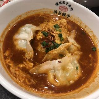 チゲ餃子(薄皮餃子専門 渋谷餃子 新宿3丁目店)