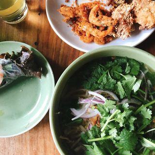 鶏肉と香味野菜のベトナムフォー(モンスーンカフェ お台場 (Monsoon Cafe))
