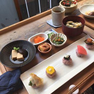 野菜寿司膳(りげんどう (Re:gendo))
